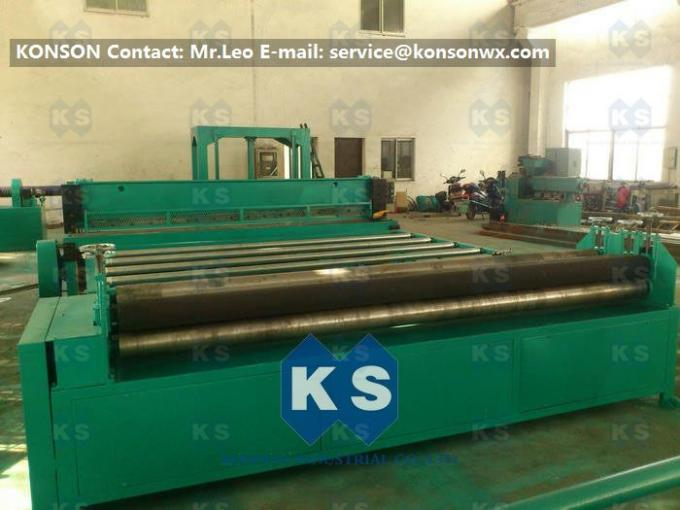 High-Speed Gabion Production Line Netting Sheet Cutting Machinery 7.5kw 4300mm