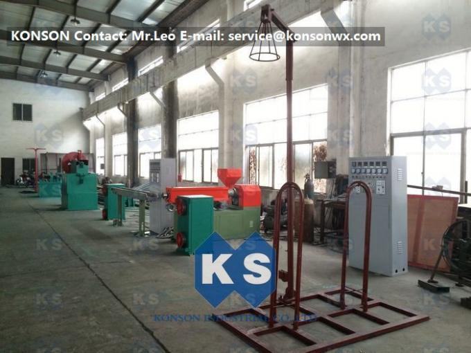High Efficiency Gabion Box Welded Mesh Machine PVC Coating Line , Wire Mesh Welding Machine