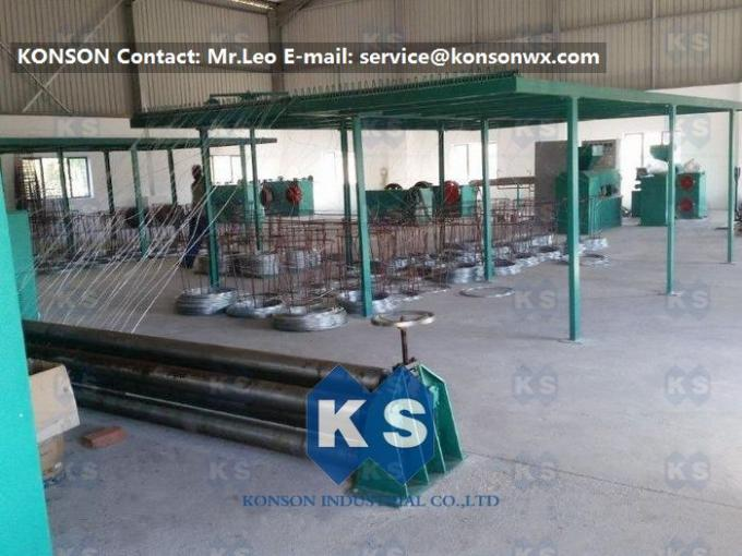 Hexagonal Wire Netting Weaving Machine Gabion Production Line With Overload Protect Clutch