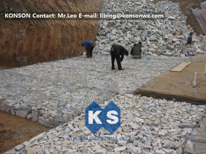 Custom Welded Mesh Gabion Basket Reno Mattress For Soil And Water Construction