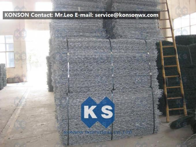 Heavy Duty Hexagonal Welded Wire Mesh Netting For Gabion Mesh Fencing