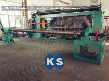Trung Quốc Hexagonal Wire Mesh Machine Woven Wire Mesh Machinery With 95% Aluminium Alloy Wire nhà cung cấp