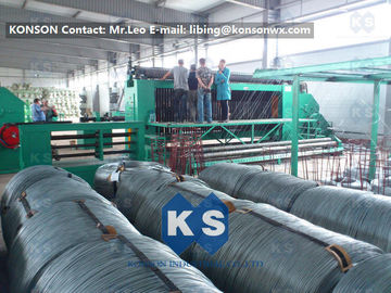 Trung Quốc 22Kw High Efficiency Gabion Box Machine With 4.9mm PVC Wire / 80mmx100mm Mesh nhà cung cấp