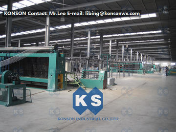 Trung Quốc Heavily Galvanized Galfan And PVC Coated Hexagonal Wire Mesh Making Machine nhà cung cấp