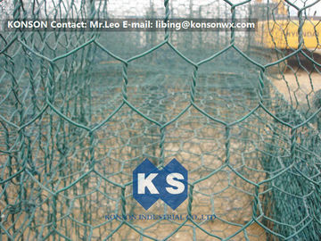 Trung Quốc High Corrosion Resistant Galvanized and PVC Coated Welded Gabions for Mesh Fencing nhà cung cấp