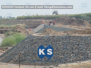 Trung Quốc Customized Architecture Gabion Retaining Wall with PVC Coated Galfan Wire nhà cung cấp