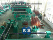 Hexagonal Gabion Production Line Automatic Gabions Mesh Machine With PLC System