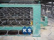 Automatic Hexagonal Wire Netting Production Line Heavy Duty Gabion Mesh Machine